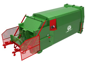 Compactor used in waste collection